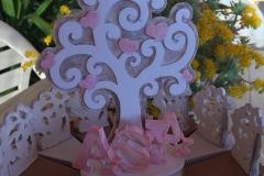Centro torta bomboniere albero della vita