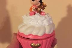 Cofanetto in ceramica con Minnie - tutto dipjnto a mano